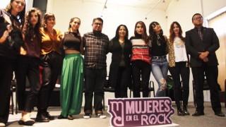 """Alista Injuve festival """"Mujeres en el Rock"""""""