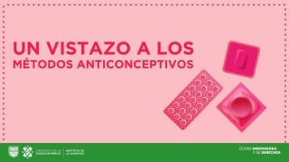 Tabla de métodos anticonceptivos